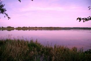 Вечер на лесном озере,лесное озеро,фото лесных озер